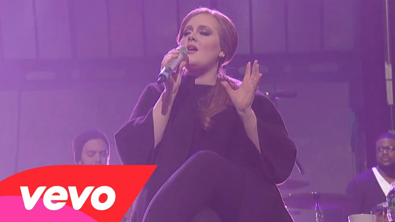 Adele – Chasing Pavements (Live on Letterman)
