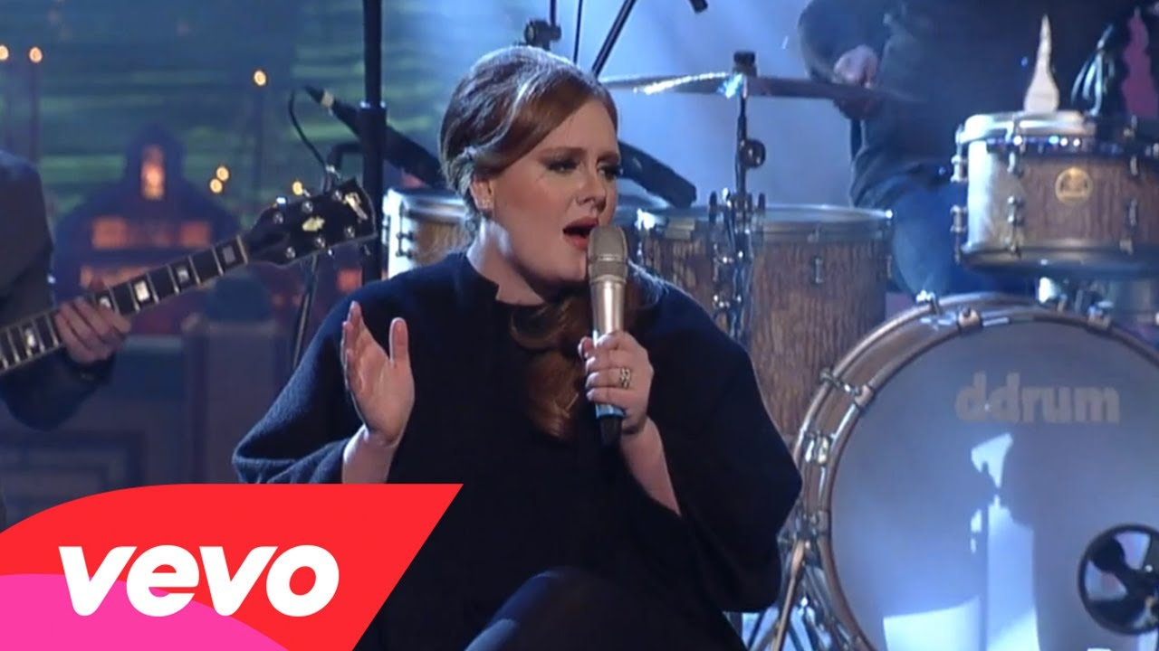 Adele – Don't You Remember (Live on Letterman)