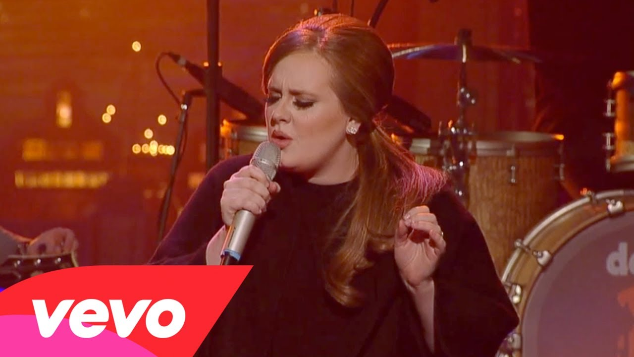Adele – Hometown Glory (Live on Letterman)