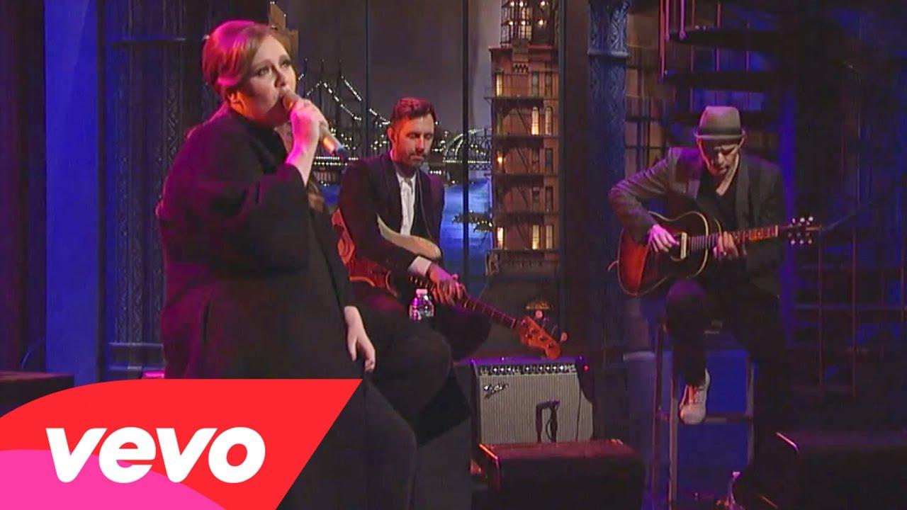 Adele – Lovesong (Live on Letterman)