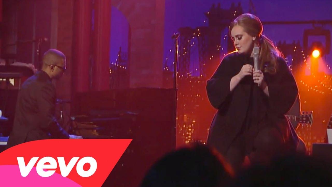 Adele – Make You Feel My Love (Live on Letterman)