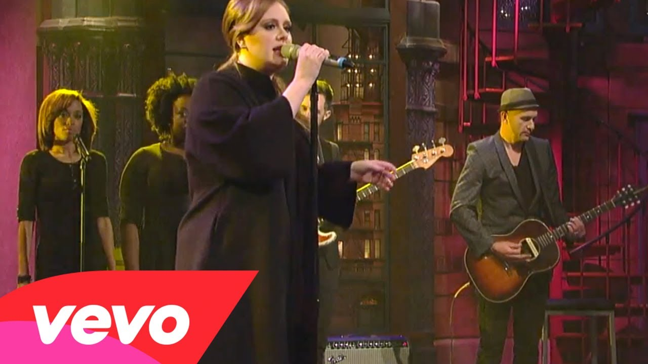 Adele – Rolling In The Deep (Live on Letterman)