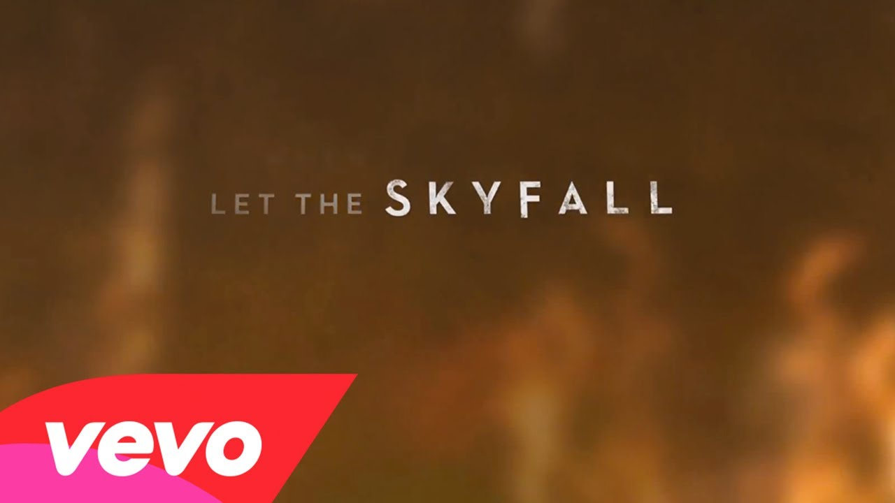 Adele – Skyfall (Lyric Video)