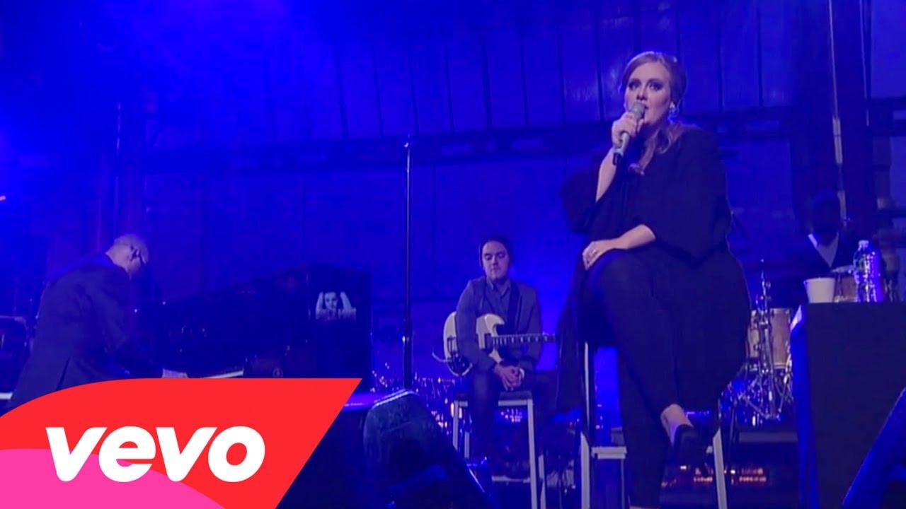 Adele – Someone Like You (Live on Letterman)