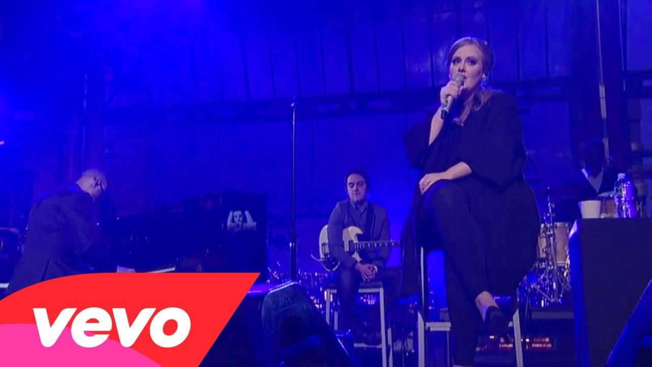 Adele – Someone Like You (Live on Letterman)