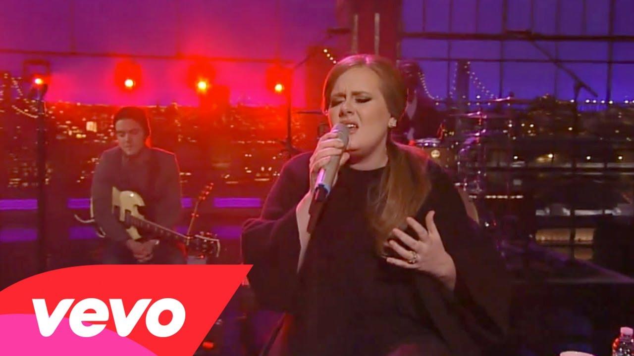 Adele – Turning Tables (Live on Letterman)