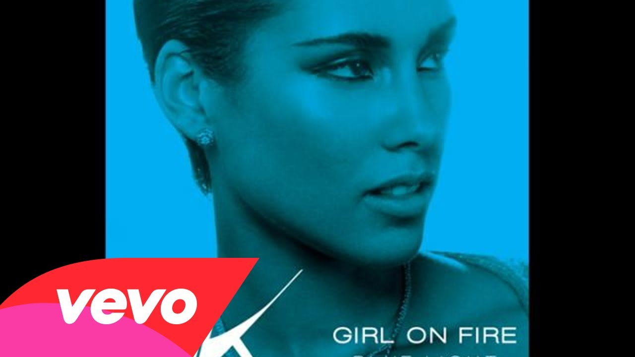 Alicia Keys – Girl On Fire (Bluelight Version) (Audio)