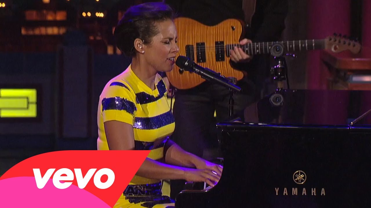 Alicia Keys – If I Ain't Got You (Live on Letterman)