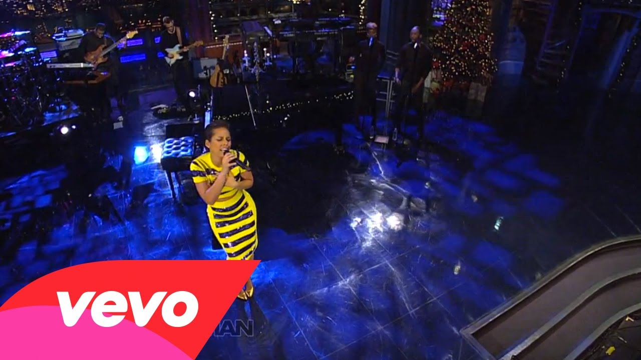 Alicia Keys – Limitedless (Live on Letterman)