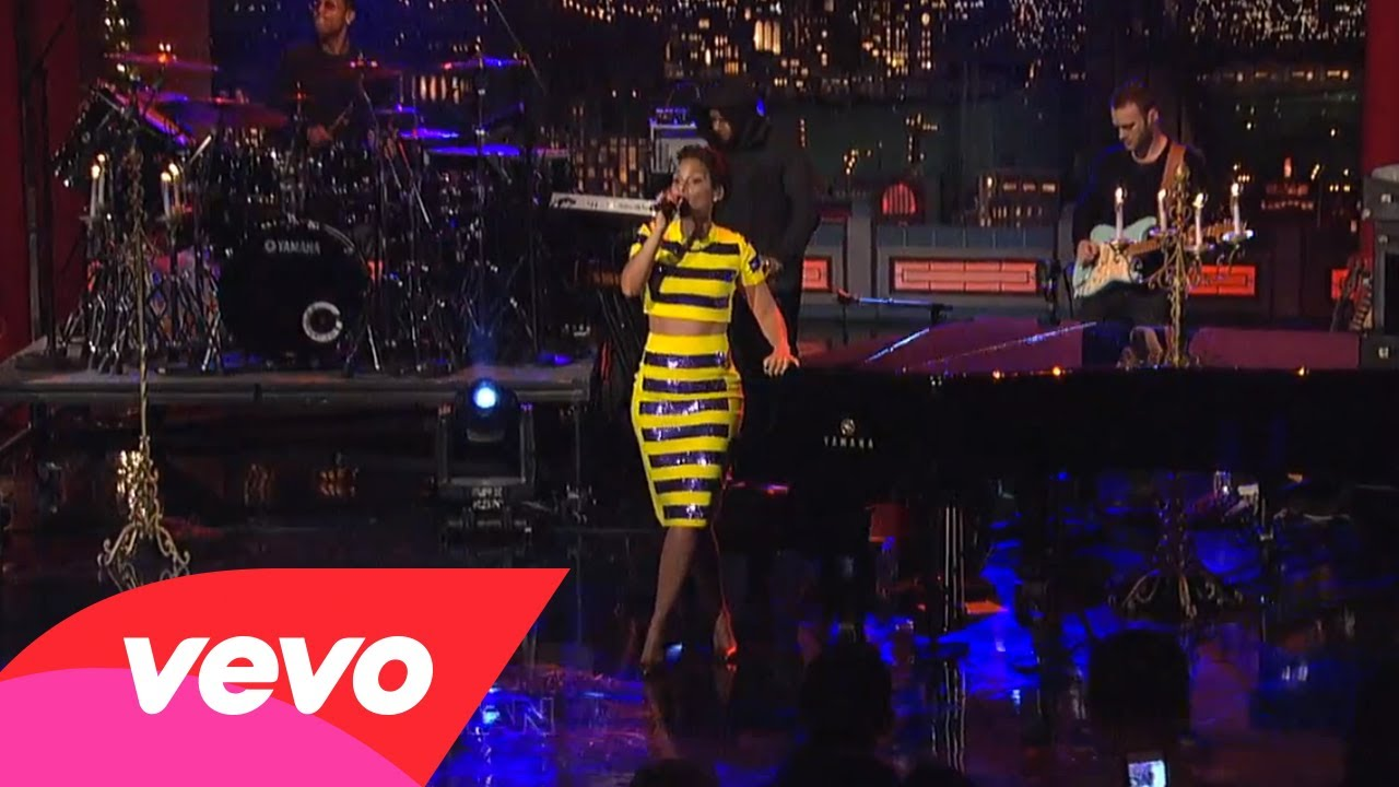 Alicia Keys – New Day (Live on Letterman)