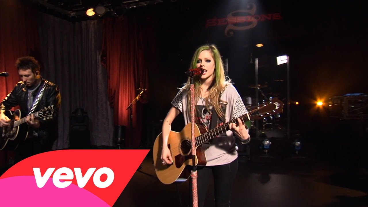 Avril Lavigne – My Happy Ending (AOL Sessions)