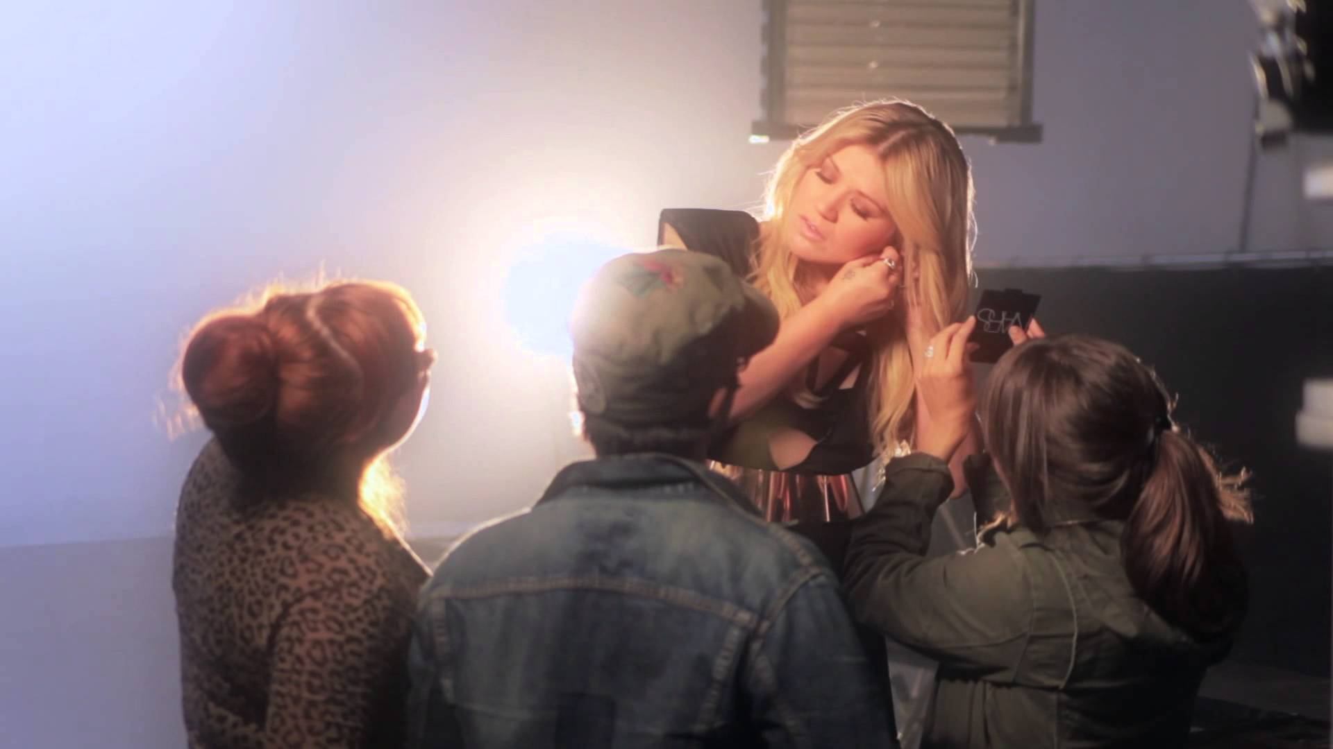 """Behind the Scenes of The Music Video """"Catch My Breath"""""""
