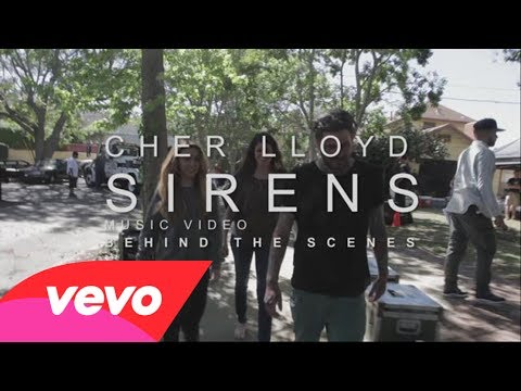 Cher Lloyd – Behind the Scenes of Sirens