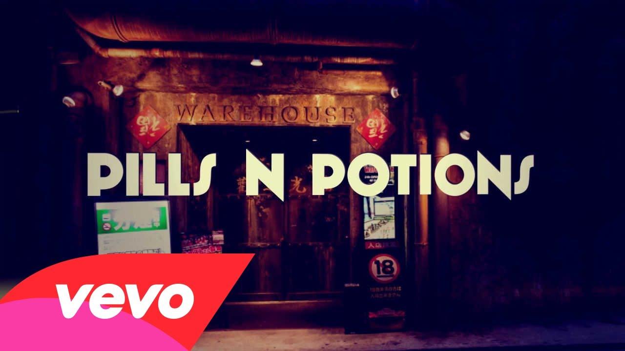 Nicki Minaj – Pills N Potions (Lyric Video)