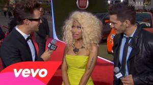 Nicki Minaj – Red Carpet Interview – AMA 2012