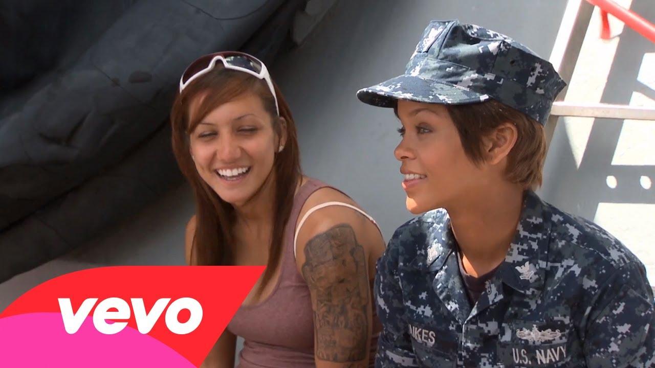 Rihanna – Battleship: Getting In Character