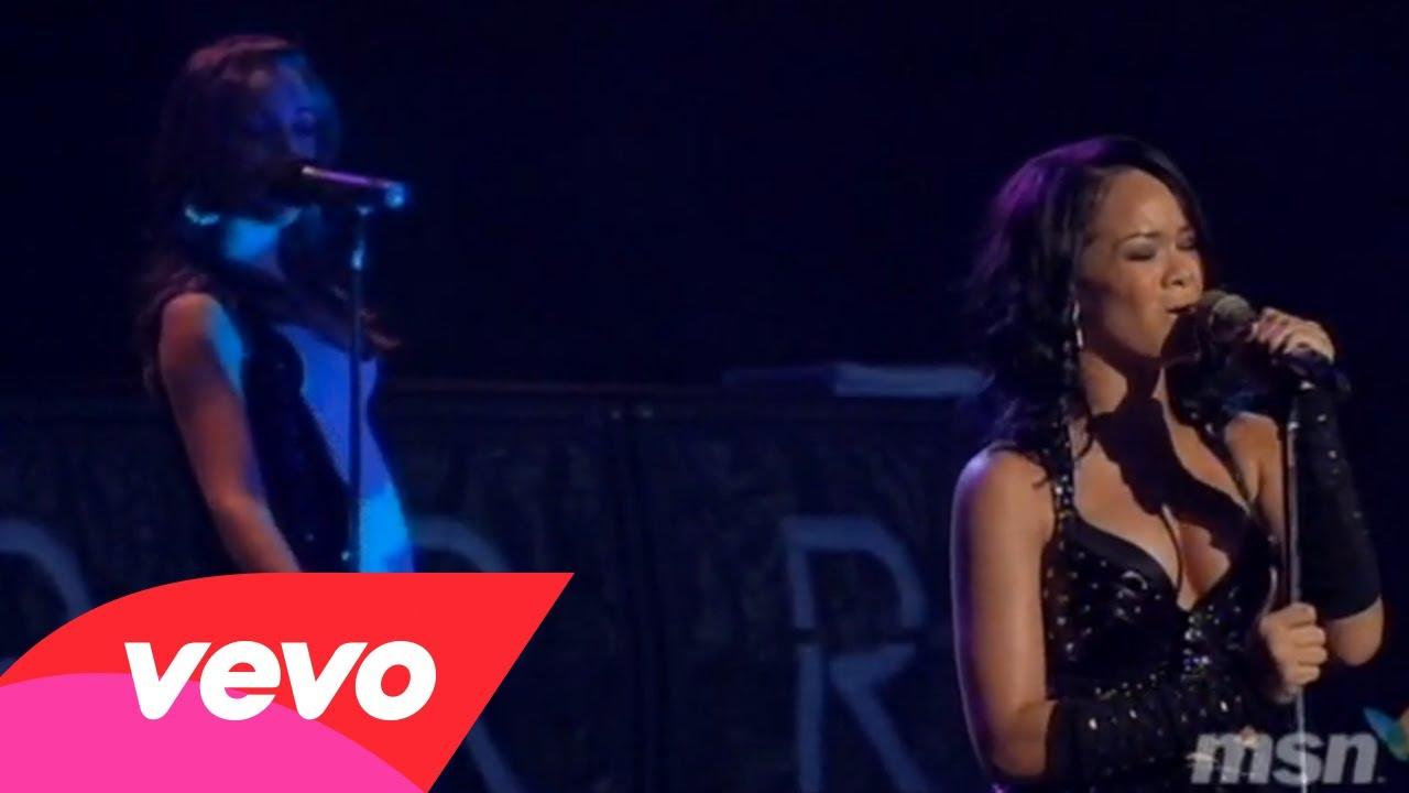 Rihanna – Rehab (Live)