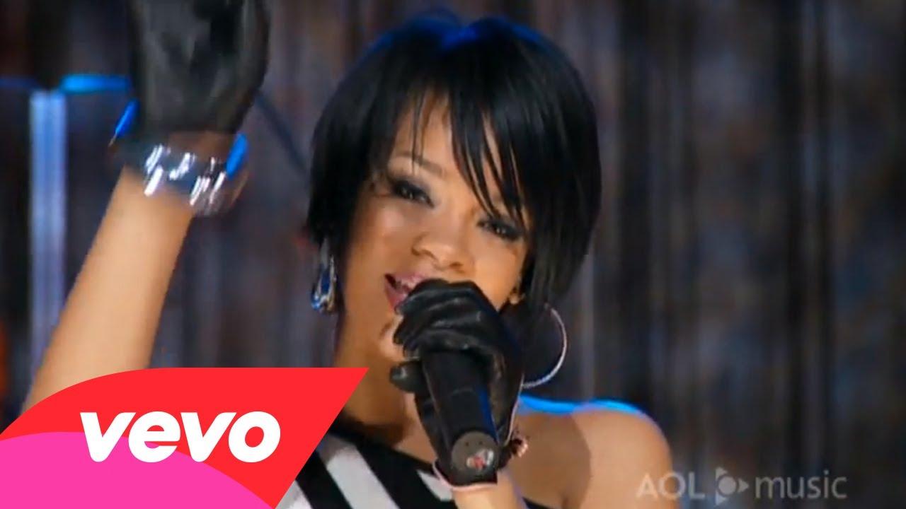 Rihanna – Shut Up and Drive (AOL Sessions)
