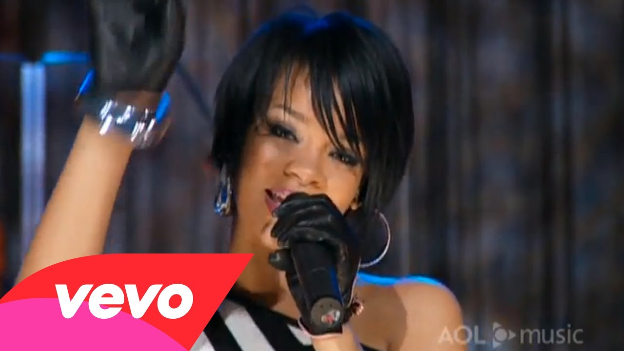 Rihanna – Shut Up and Drive (AOL Sessions)