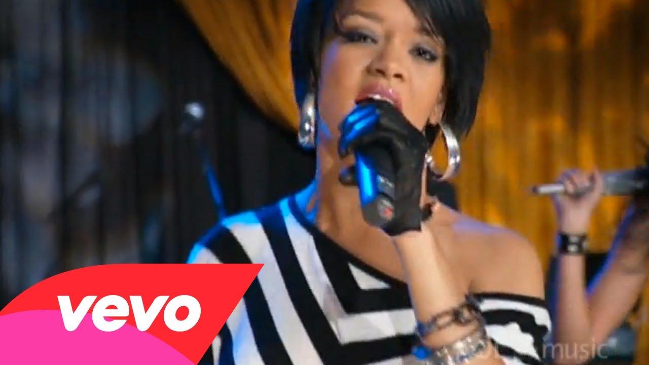 Rihanna – Umbrella (AOL Sessions)