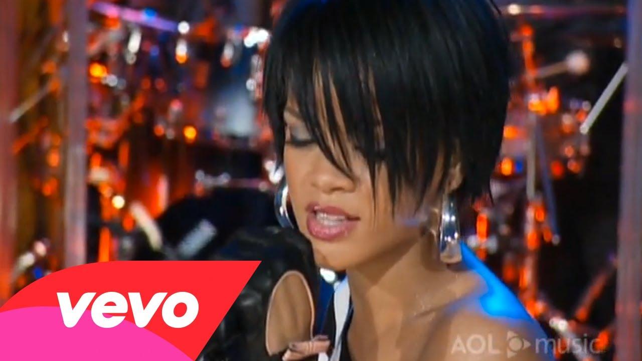Rihanna – Unfaithful (AOL Sessions #2)