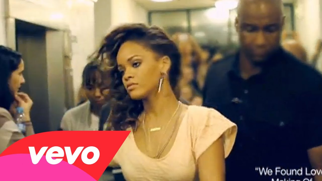 Rihanna -We Found Love (Behind The Scenes, Pt 2)